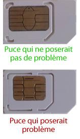 Problème sur carte SIM Free Mobile